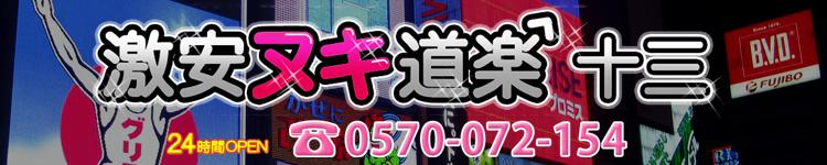 激安ヌキ道楽 十三